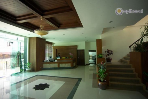 Inside view of the hotel