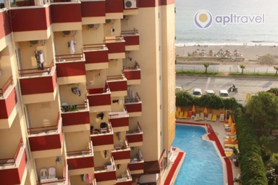 Отель Galaxy Beach Hotel, Алания, Турция
