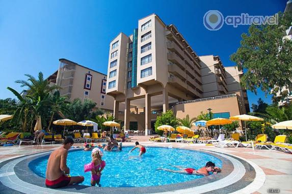 Отель Stella Beach Hotel, Алания, Турция