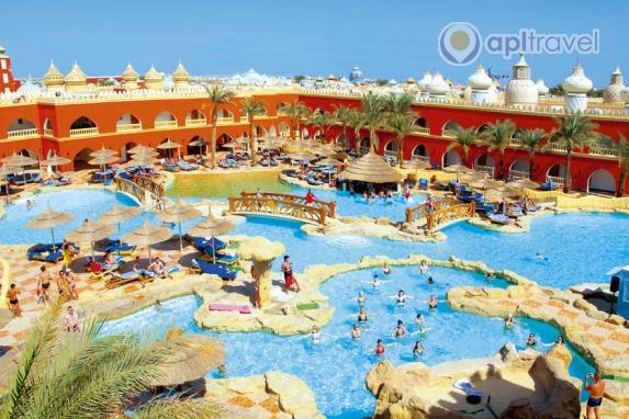 Отель Alf Leila Wa Leila, Хургада, Египет
